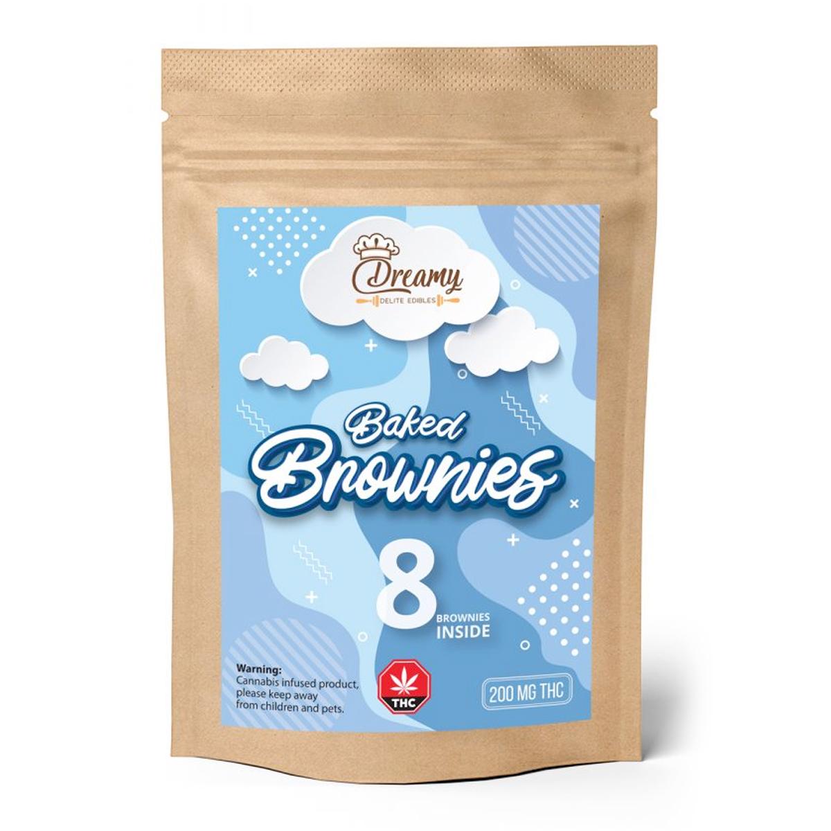 BUy Dreamy Delite Fudge Brownies - 200mg
