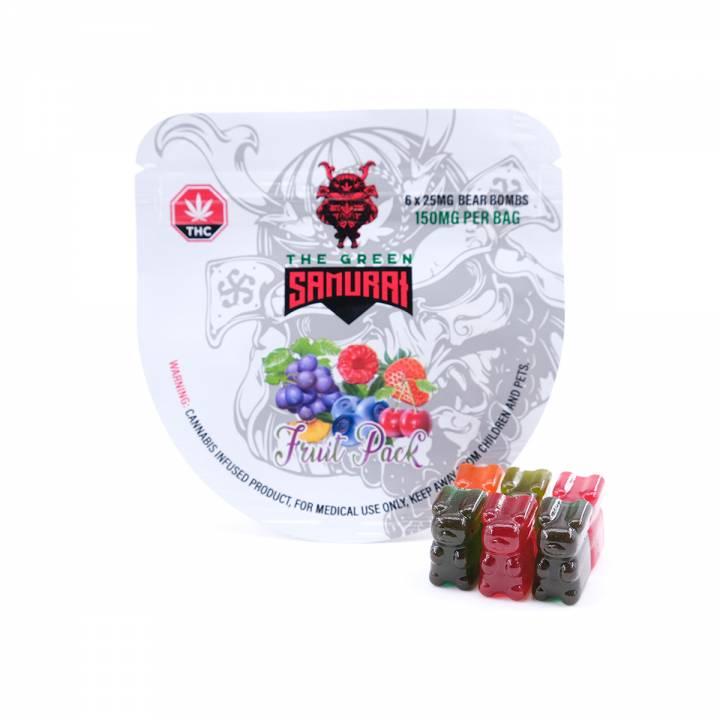 Buy The Green Samurai FRUIT PACK BEAR BOMB - 150MG THC