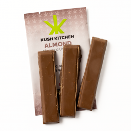 Kush Kitchen Milk Chocolate & Almond Bar 200mg