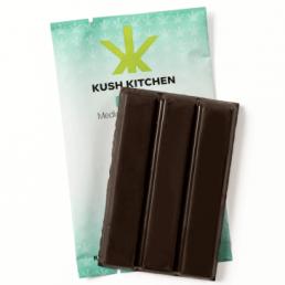 Kush Kitchen Mint Dark Chocolate Bar 200mg