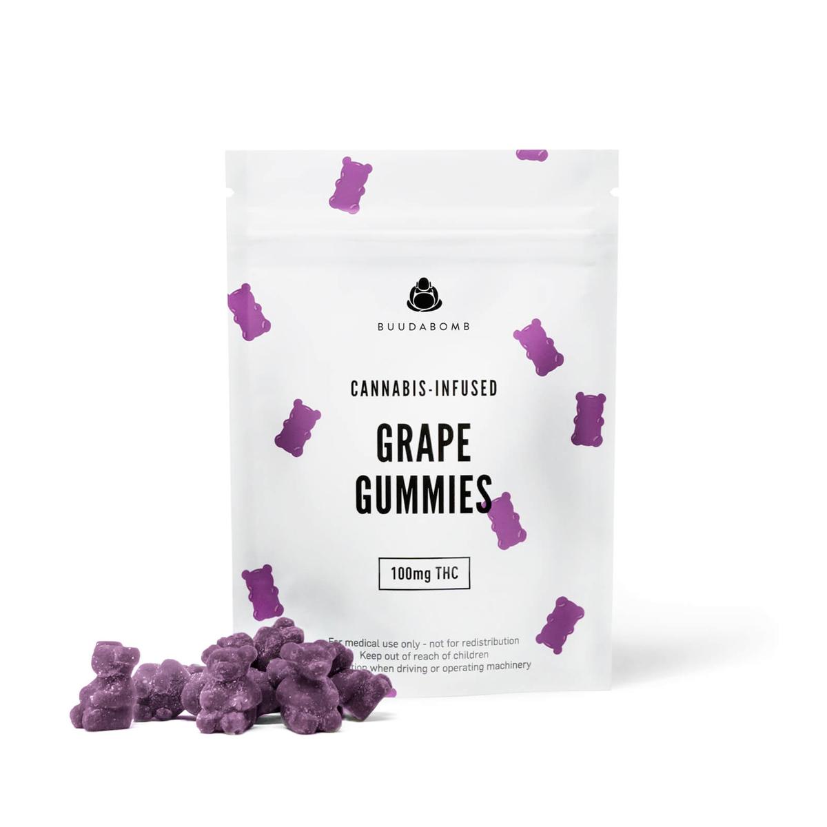 Buy Buudabomb - Grape Gummies