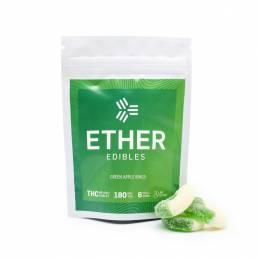 Buy Ether Edibles Green Apple Rings 180mg Online