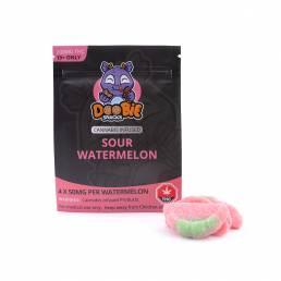 Buy Doobie Snacks Watermelon 200mg THC Gummies