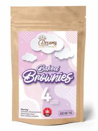 Buy Dreamy Delite Fudge Brownies - 400mg
