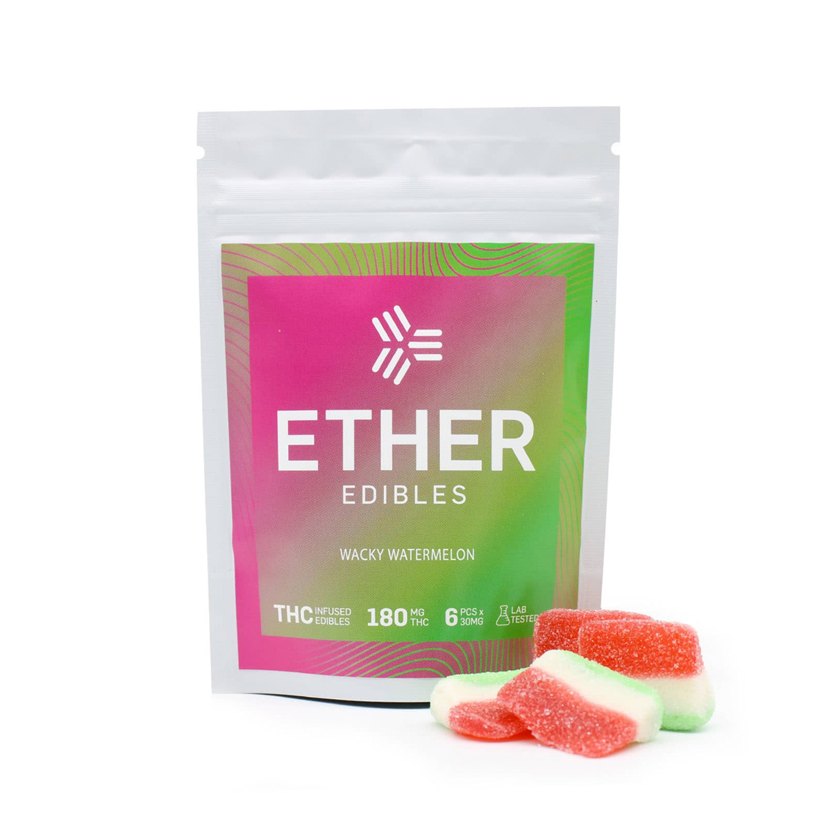 Buy Ether Edibles Wacky Watermelon - 180mg