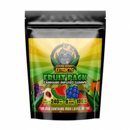 Buy Golden Monkey Fruit Pack Cola 240mg THC + 100mg CBD Gummies
