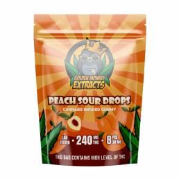 Buy Golden Monkey Peach Sour - 240mg THC