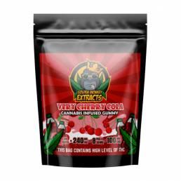 Buy Golden Monkey Very Cherry Cola 240mg THC + 100mg CBD Gummies