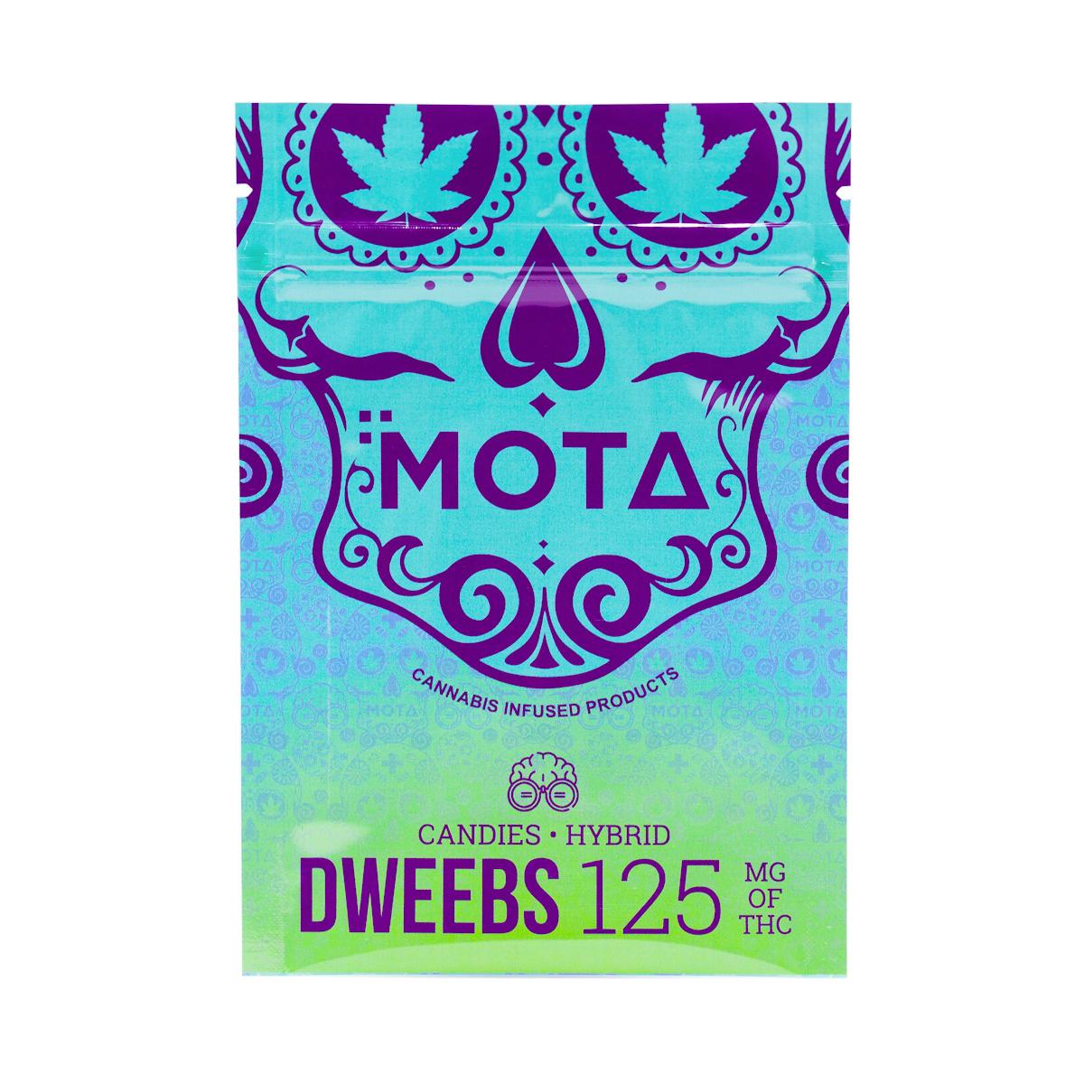 Buy MOTA - Dweebs 125mg THC