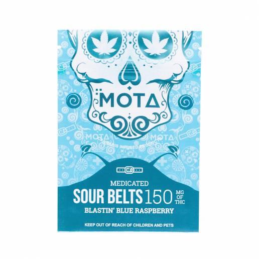 Buy MOTA - Sour Belts Blastin' Blue Raspberry - 150mg THC