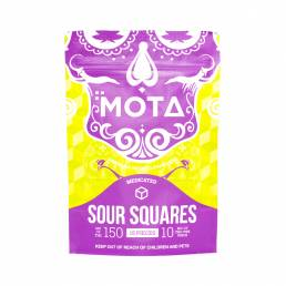 Buy MOTA - Sour Squares 150mg THC