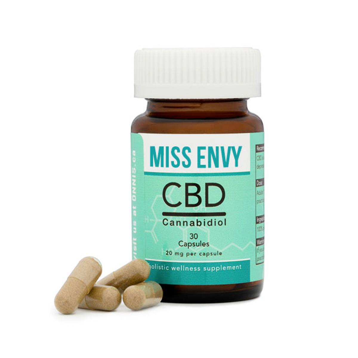 Buy Miss Envy CBD Caps Bottle