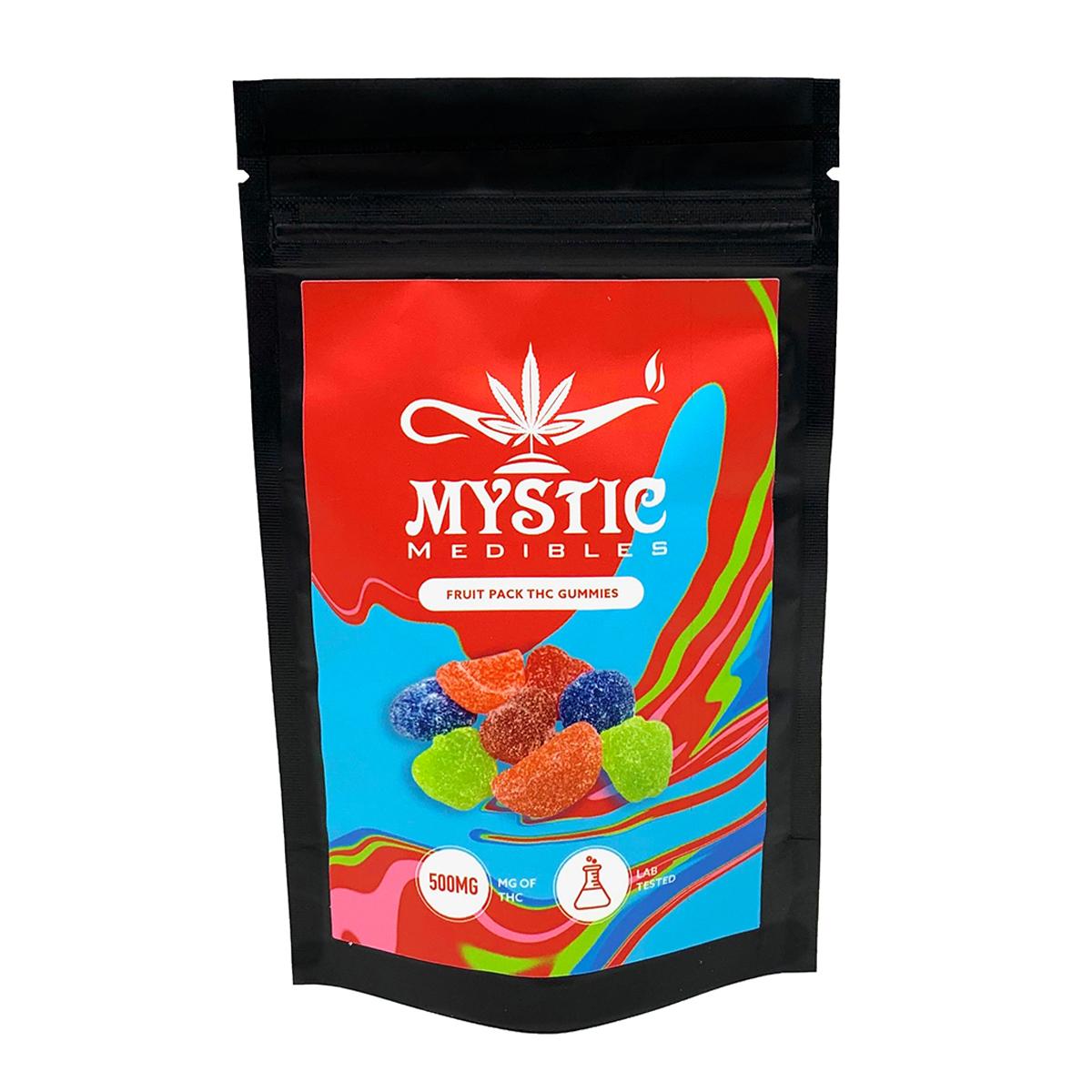 Buy Mystic Medibles - Fruit Pack 500mg