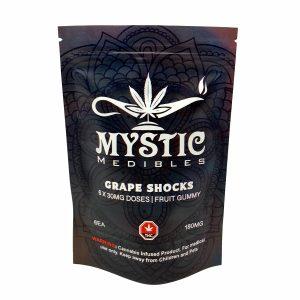 Buy Mystic Medibles - Grape Shock 180mg Online