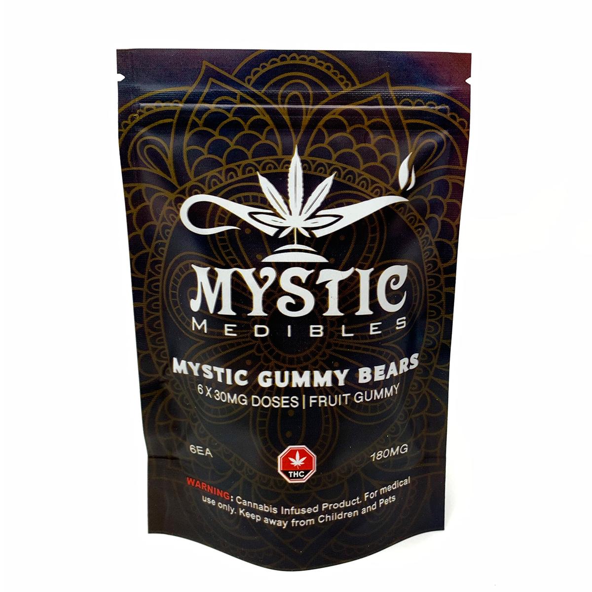 Buy Mystic Medibles - Mystic Gummy Bears 180mg Online