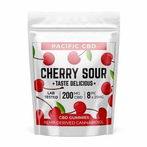 Buy Pacific CBD Cherry Sour 200mg