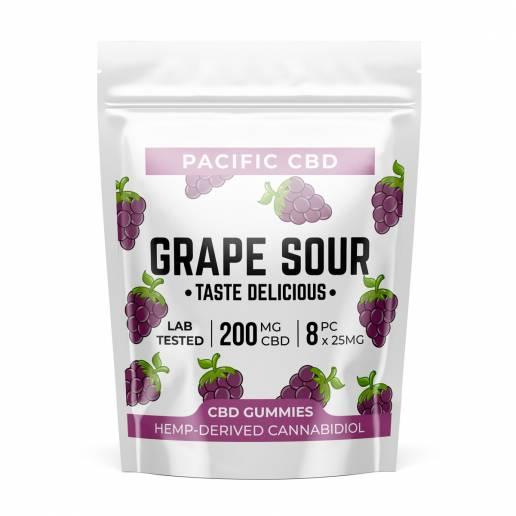 Buy Pacific CBD Grape Sour 200mg