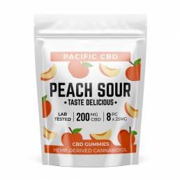 Buy Pacific CBD Sour Peach 200mg