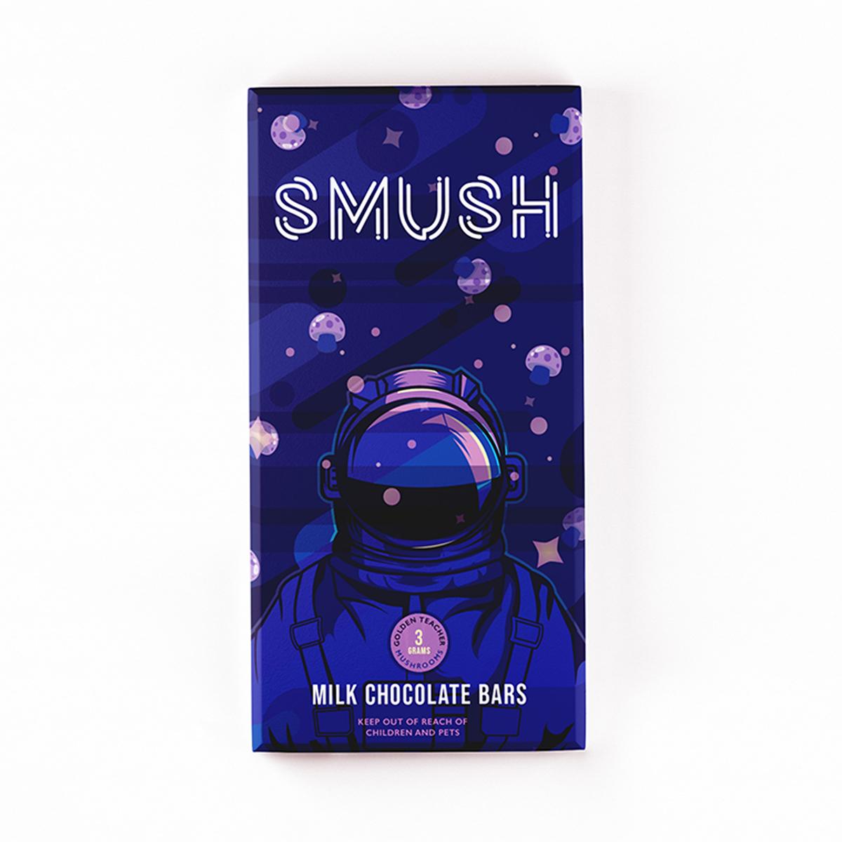 Buy Smush Milk Chocolate Bars - 3grams