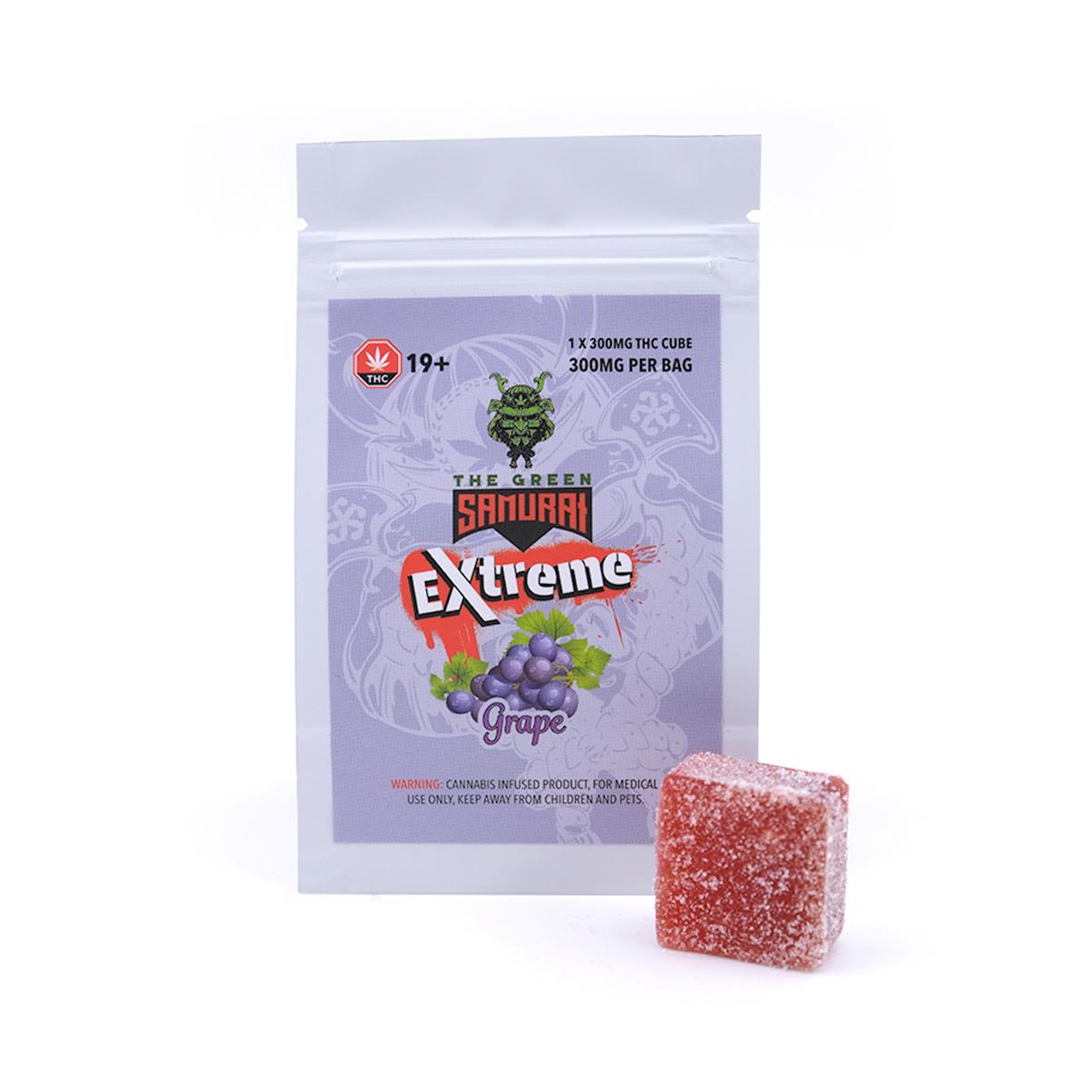 Buy The Green Samurai Extreme 300mg THC - Grape