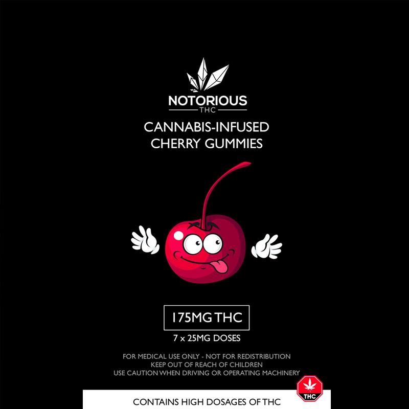 cherry cannabis edibles